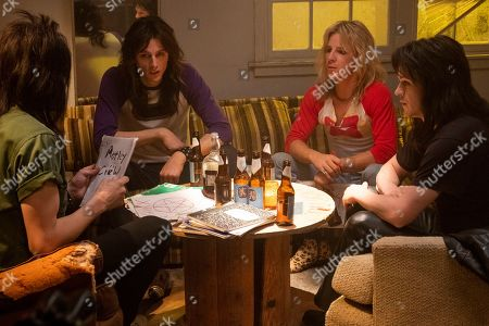 Douglas Booth as Nikki Sixx, Machine Gun Kelly as Tommy Lee, Daniel Webber as Vince Neil and Iwan Rheon as Mick Mars