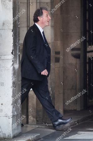 Conservative MP Oliver Letwin is seen at Parliament