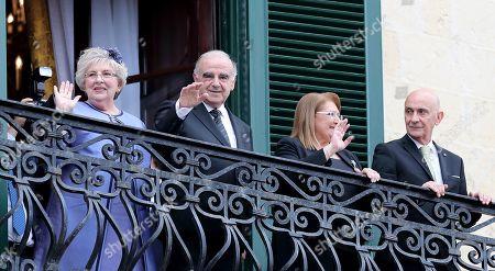Editorial photo of George Vella sworn in as Maltese President of, Valletta, Malta - 04 Apr 2019