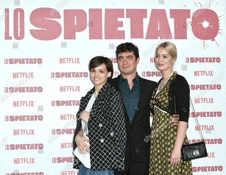 Sara Serraiocco, Riccardo Scamarcio, Marie-Ange Casta