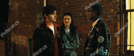 Nick Robinson as Jan Erlone, Sarah Margaret Qualley as Mary Dalton and Ashton Sanders as Bigger Thomas