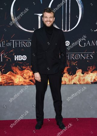 """Pilou Asbaek attends HBO's """"Game of Thrones"""" final season premiere at Radio City Music Hall, in New York"""