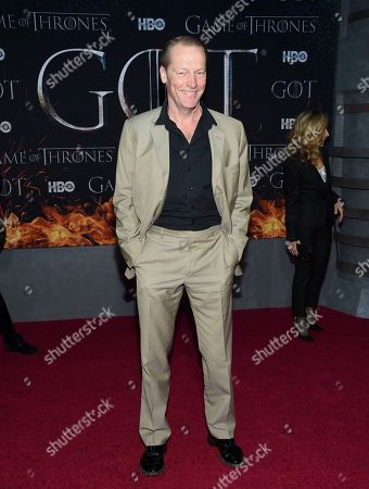 "Iain Glen attends HBO's ""Game of Thrones"" final season premiere at Radio City Music Hall, in New York"