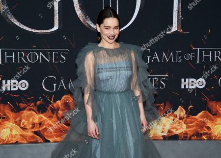 """Editorial photo of NY Premiere of """"Game of Thrones"""" Final Season, New York, USA - 03 Apr 2019"""