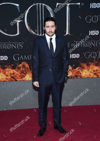"""Daniel Portman attends HBO's """"Game of Thrones"""" final season premiere at Radio City Music Hall, in New York"""
