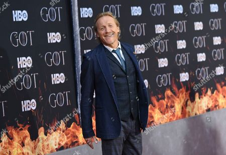 """Jerome Flynn attends HBO's """"Game of Thrones"""" final season premiere at Radio City Music Hall, in New York"""
