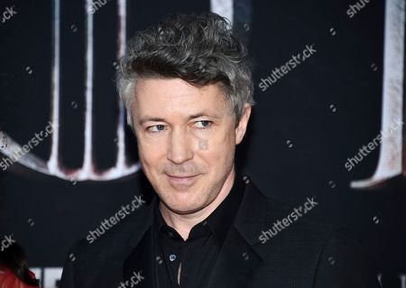 "Aidan Gillen attends HBO's ""Game of Thrones"" final season premiere at Radio City Music Hall, in New York"