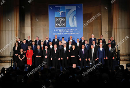 Editorial picture of US NATO, Washington, USA - 03 Apr 2019