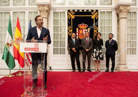 Editorial picture of US diplomat James Costos receives the 'Honorary Ambassador' tittle, Sevilla, Spain - 04 Apr 2019