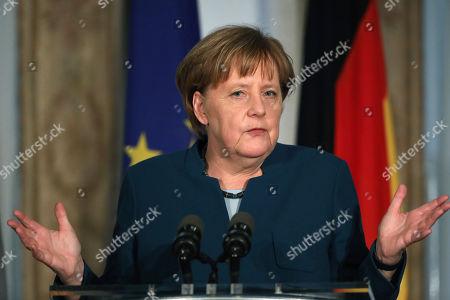 Editorial photo of Germany Brexit, Dublin, Ireland - 04 Apr 2019