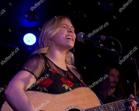 Editorial image of Olivia Rose in concert at Horseshoe Tavern, Toronto, Canada - 02 Apr 2019
