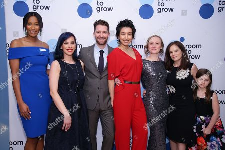 Stock Image of Akilah King, Veridiana Montas, Matthew Morrison, Renee Morrison, Allyson Crawford, Julie Burns and Willa Burns