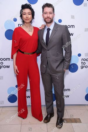 Renee Morrison and Matthew Morrison