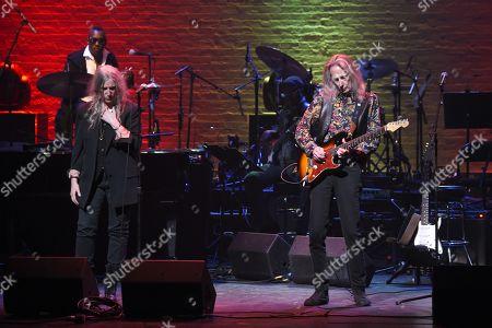 Patti Smith and Lenny Kaye