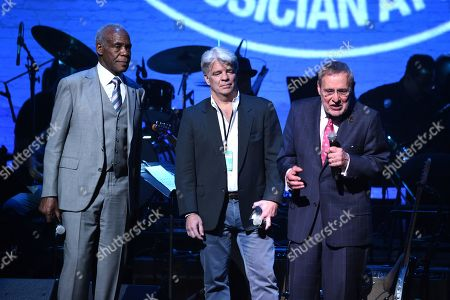 Danny Glover, Jarrett Lilien and Dr. Forte