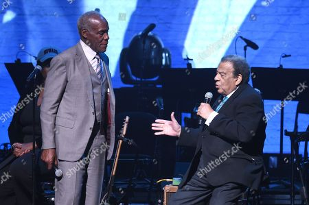 Danny Glover and Andrew Young