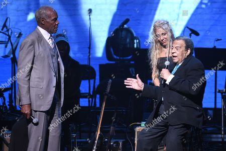 Wendy Oxenhorn, Danny Glover and Andrew Young