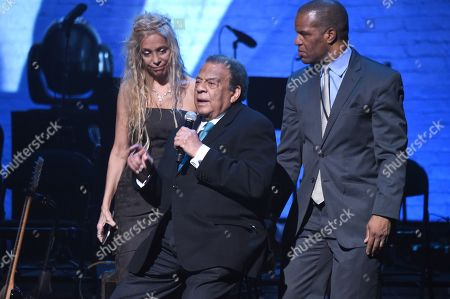 Stock Photo of Wendy Oxenhorn, Danny Glover and Andrew Young