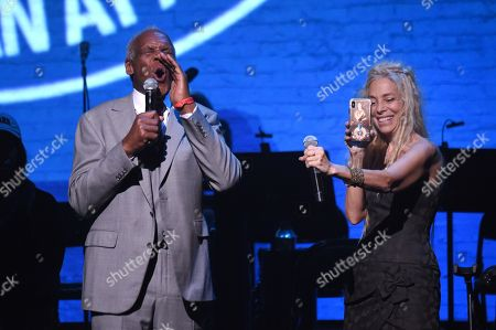 Danny Glover and Wendy Oxenhorn