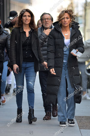 Editorial picture of 'Hustlers' on set filming, New York, USA - 04 Apr 2019