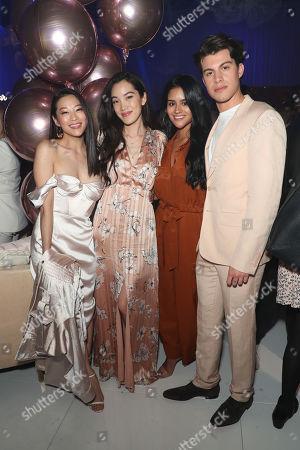 Arden Cho, Jessica Van, Gigi Zumbado and Andrew Matarazzo