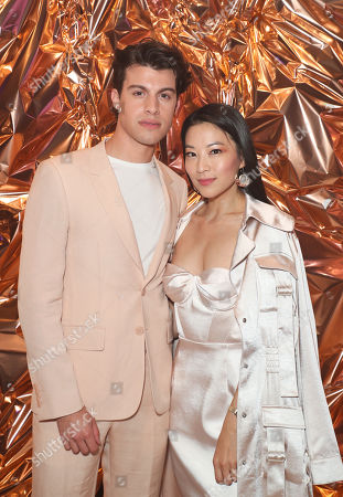 Stock Picture of Andrew Matarazzo and Arden Cho