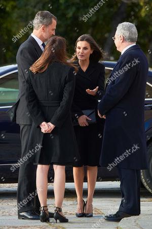 King Felipe VI, Queen Letizia, Carmen Perez-Llorca, Pedro Perez-Llorca