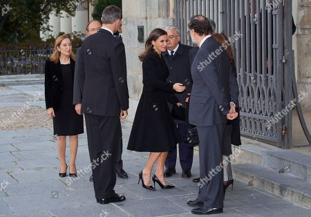 King Felipe VI, Queen Letizia, Carmen Calvo Poyato, Ana Pastor Garcia, Mariano Rajoy, Elvira Fernandez Balboa, Pio Garcia-Escudero