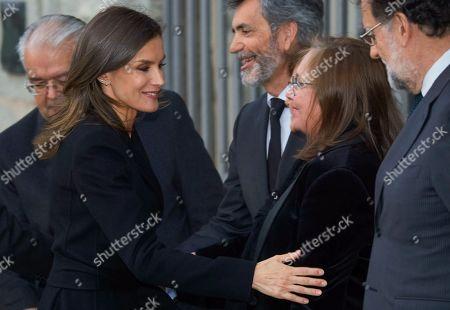 Queen Letizia, Mariano Rajoy, Elvira Fernandez Balboa
