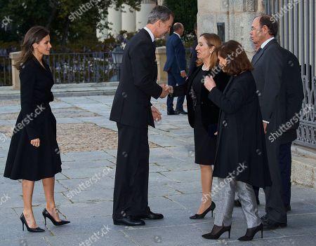 King Felipe VI, Queen Letizia, Carmen Calvo Poyato, Ana Pastor Garcia