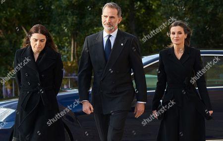 King Felipe VI, Queen Letizia, Carmen Perez-Llorca