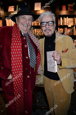 Barry Humphries and Nicky Haslam