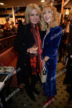 Joanna Lumley and Basia Briggs