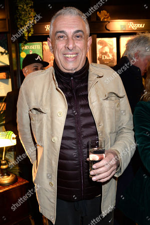 Editorial picture of Nicky Haslam 'The Impatient Pen' book launch, Hatchards, London, UK - 04 Apr 2019