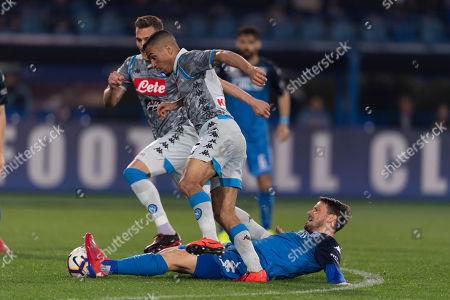 Editorial photo of Empoli v Napoli, Serie A Football Match, Empoli, Italy - 03 Apr 2019