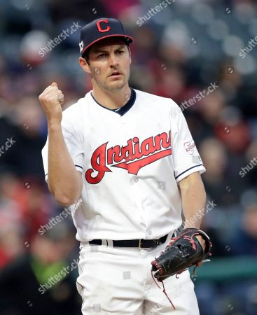 Editorial picture of Blue Jays Indians Baseball, Cleveland, USA - 04 Apr 2019