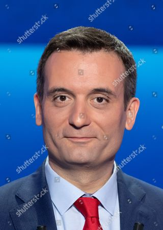 "Head candidate of French nationalist party ""Les Patriotes"" (The Patriots) Florian Philippot."