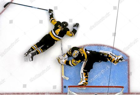 Editorial picture of Red Wings Penguins Hockey, Pittsburgh, USA - 04 Apr 2019