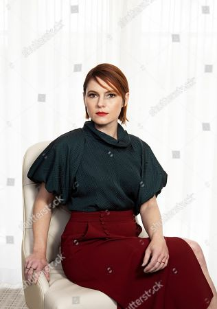 "Shows Amy Seimetz posing for a portrait to promote her film ""Pet Sematary"" at the Four Seasons Hotel in Los Angeles"