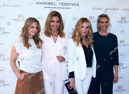 Genoveva Casanova, Maribel Yebenes, Marta Sanchez and Myriam Yebenes