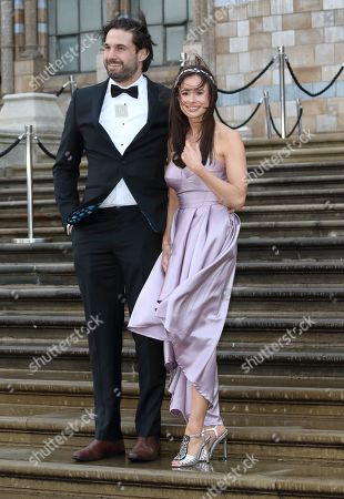 Jamie Jewitt and Camilla Thurlow arrive for the World Premiere of Netflix's Our Planet at the Natural History Museum, Kensington