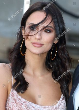 Lucy Watson arrives for the World Premiere of Netflix's Our Planet at the Natural History Museum, Kensington