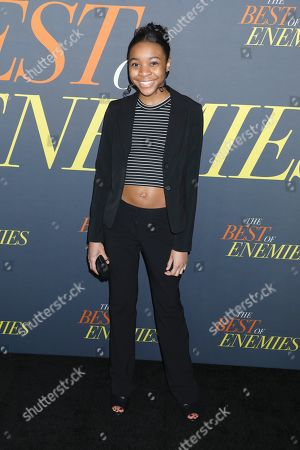 Editorial photo of 'The Best of Enemies' film premiere, Arrivals, New York, USA - 04 Apr 2019