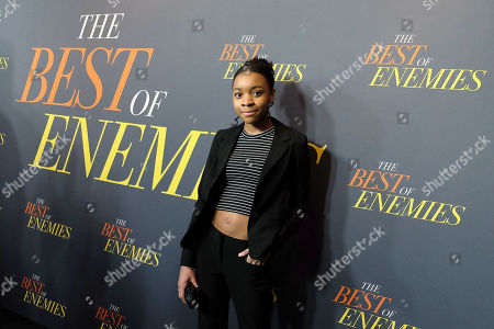 Editorial picture of New York Premiere of 'THE BEST OF ENEMIES', New York, USA - 04 Apr 2019