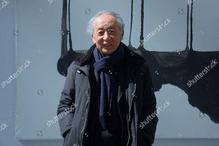 Gao Xingjian 2000 Nobel Prize for Literature with his artwork