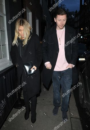 Milly Gattegno and Professor Green