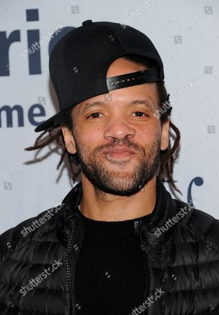 """Savion Glover walks the red carpet at the Jazz Foundation of America's 17th annual """"A Great Night In Harlem"""" gala concert at The Apollo Theater, in New York"""