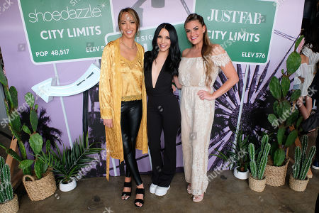 Editorial photo of 'JustFab and Shoedazzle Present - The Desert Oasis', Los Angeles, California, USA - 04 Apr 2019