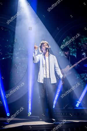 Editorial photo of Lukas Graham in concert at the o2 Forum, London, Uk - 04 Apr 2019