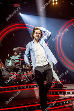 Editorial image of Lukas Graham in concert at the o2 Forum, London, Uk - 04 Apr 2019